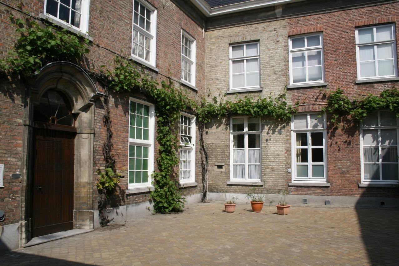 Cour d'entrée du monastère