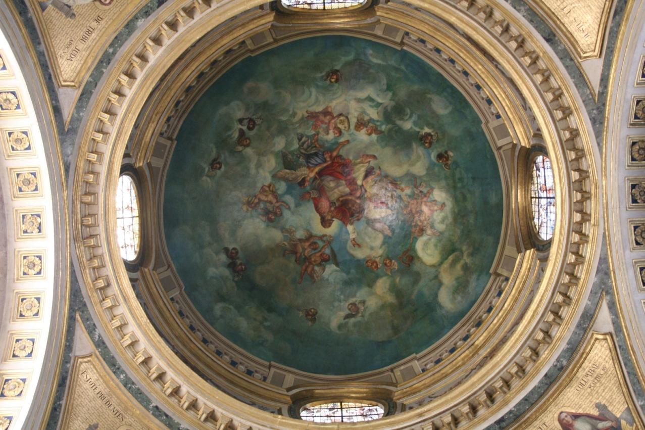 L'enfilade de fenêtres du grand cloître (XVIIIe s.)