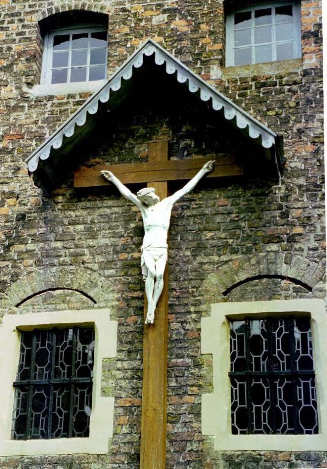 Crucifix de l'ancien cimetière